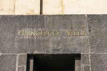 Francisco Pancho Villa 1910 Revolution Monument Mexico City Mexico
