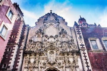 San Francisco Church Madero Street Mexico City Mexico