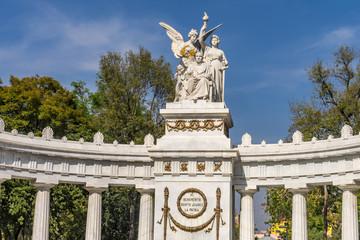 Benito Juarez Hemicycle Monument Mexico City Mexico