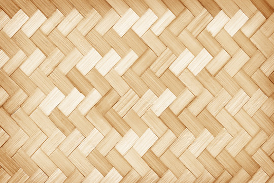 woven bamboo texture surface background