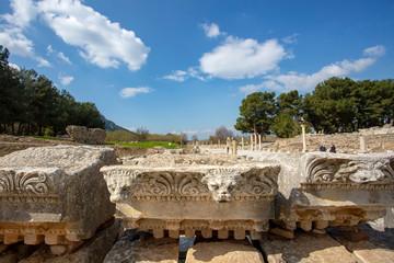 Ephesus historical ancient city. Selcuk / Izmir / Turkey