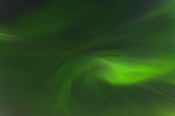 Northern lights in the sky, aurora.