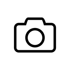 Camera Icon vector. Camera symbol for your web site design