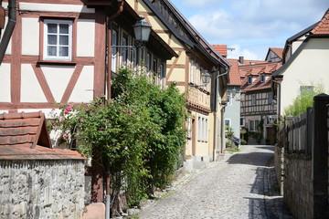 Fototapete - Gasse in Koenigsberg in Bayern