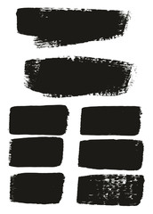 Paint Brush Medium Background & Lines High Detail Abstract Vector Background Mix Set 81