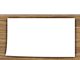 木目の看板フレーム素材