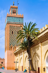 Moulay El yazid Mosque in Marrakech, Morocco