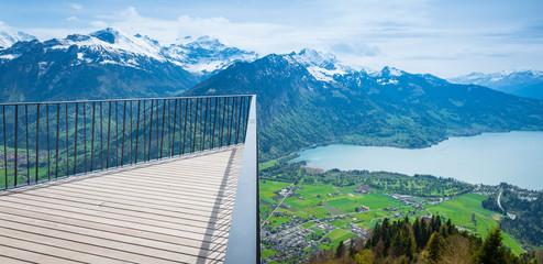 """Grindelwald, Bern. Switzerland """"Cliffwalk"""""""