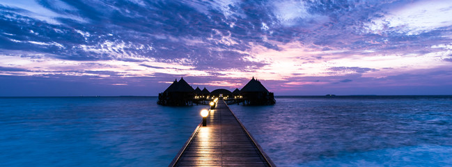 Island Angaga Atoll for relaxation in the Indian Ocean. Maldives