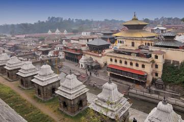 Nepal, Kathmandu, Pashupatinath temple.