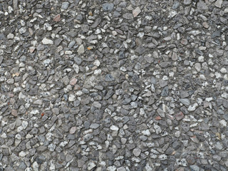 Large Gravel Pieces Surface Texture Background