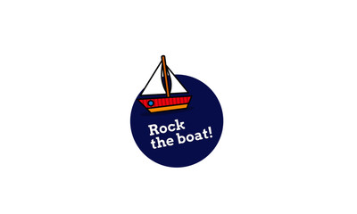 Rock the boat inspirational Poster