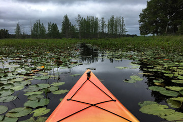 Kayak in the Storm
