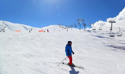 Lebanon winter snow season Kfardebian