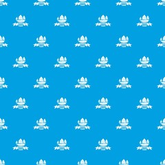 China ship pattern vector seamless blue repeat for any use