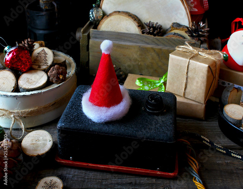 8cbdd4e0a92b8 happy magic Merry Christmas Santa hat