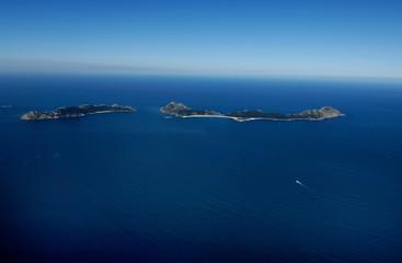 national park of islands Cies