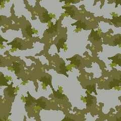 Field camouflage of various shades of green and gray colors