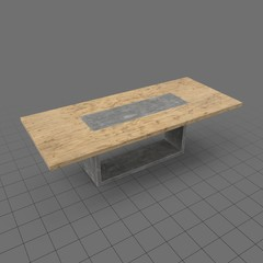 Large modern table