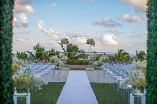 wedding decoration in Miami
