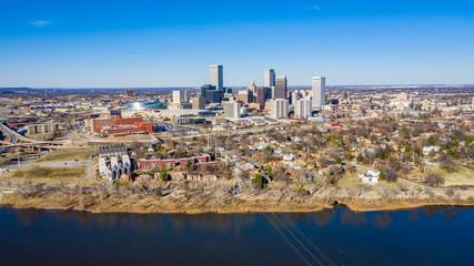 Fototapete - Tulsa Aerial
