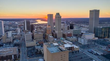 Fototapete - Tulsa Sunset