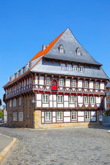 Wall Mural - Half-timbered house in Goslar,