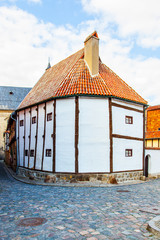 Wall Mural - The oldest timber framing house in Germany