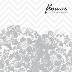 Botanical greeting invitation card template design
