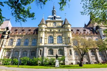 Vajdahunyad castle in Budapest, Hungary