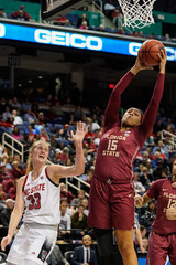 NCAA Womens Basketball: Atlantic Coast Conference Tournament - Notre Dame vs UNC
