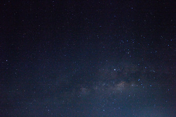 abstract space background and milky way in the stars.