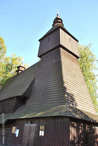 The old wooden church in Hervartov, Bardejov district