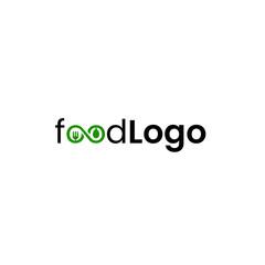 Food minimalist logo