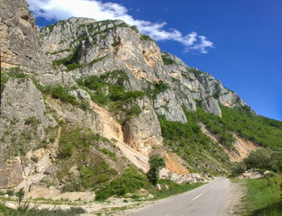 Jerma River canyon in Serbia