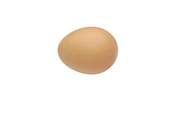 chicken egg on a white background