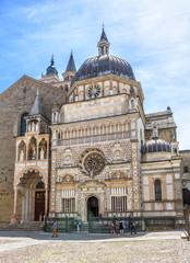Fototapete - Basilica of Santa Maria Maggiore in Citta Alta, Bergamo, Italy