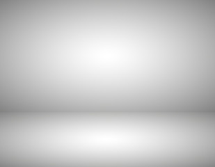 Empty gray color product showcase. Studio room background. Used as background for display your product, Vector