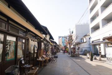 なわて通り商店街 松本市
