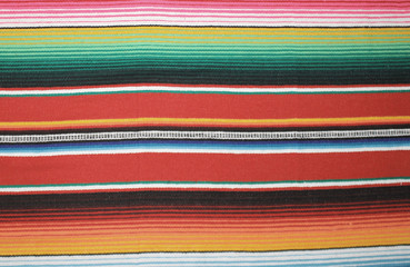 Mexican poncho Mexico background  blanket rug traditional cinco de mayo rug poncho fiesta background with stripes stock, photo, photograph, picture, image