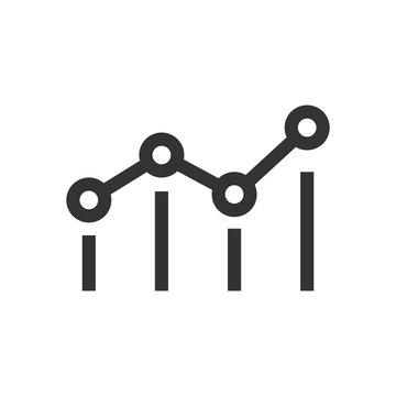 Benchmark measure icon in flat style. Dashboard rating vector illustration on white isolated background. Progress service business concept.