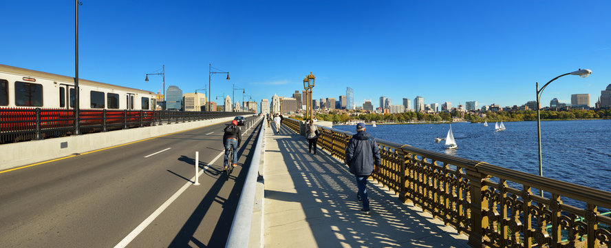 Boston Pano From Longfellow Bridge