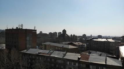 old church in Yerevan, Armenia