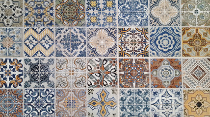 Ceramic tiles in oriental style