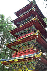 Traditional Japanese tower