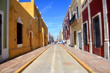 Central of Campeche Mexico