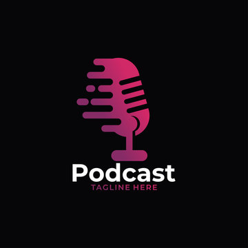 podcast audio logo