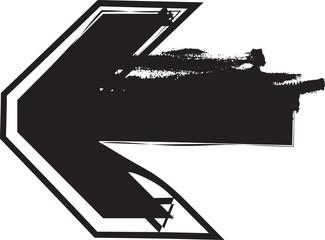 Papier Peint - Abstract arrow Illustration