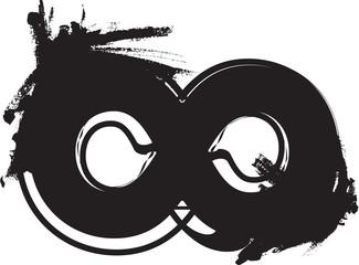 Papier Peint - Abstract infinity Symbol
