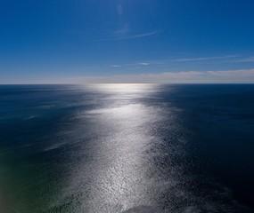 Aerial view of Orange Beach, Alabama
